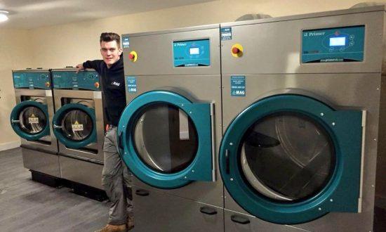 industrial laundry machines uk