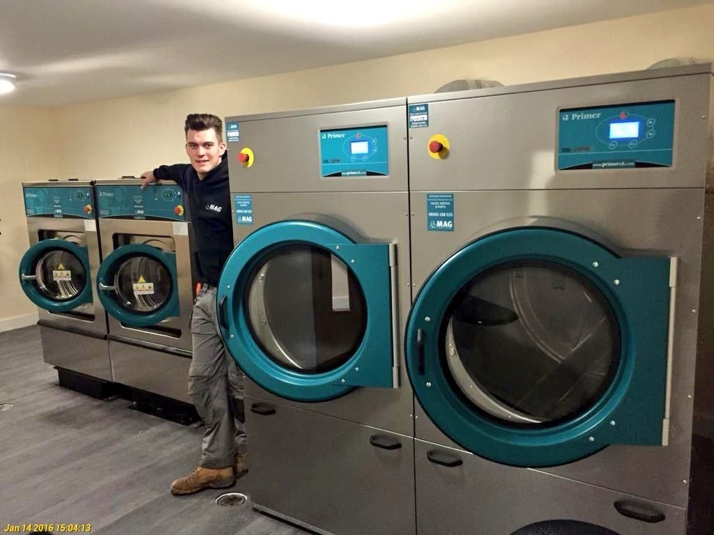 Care Home Washing Machine | MAG Laundry Equipment