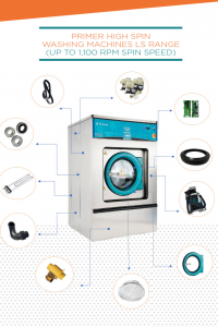 primer commercial washing machine spare parts and service agent uk
