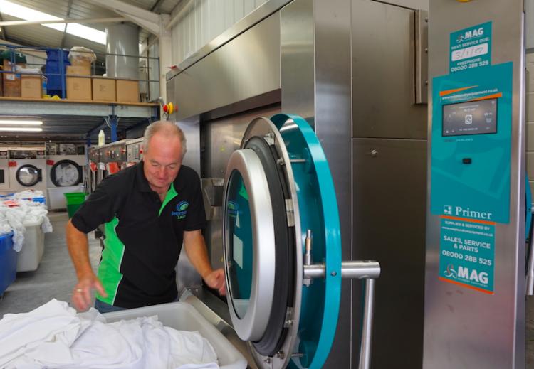 Primer Laundry Equipment - Commercial Washing Machine 03