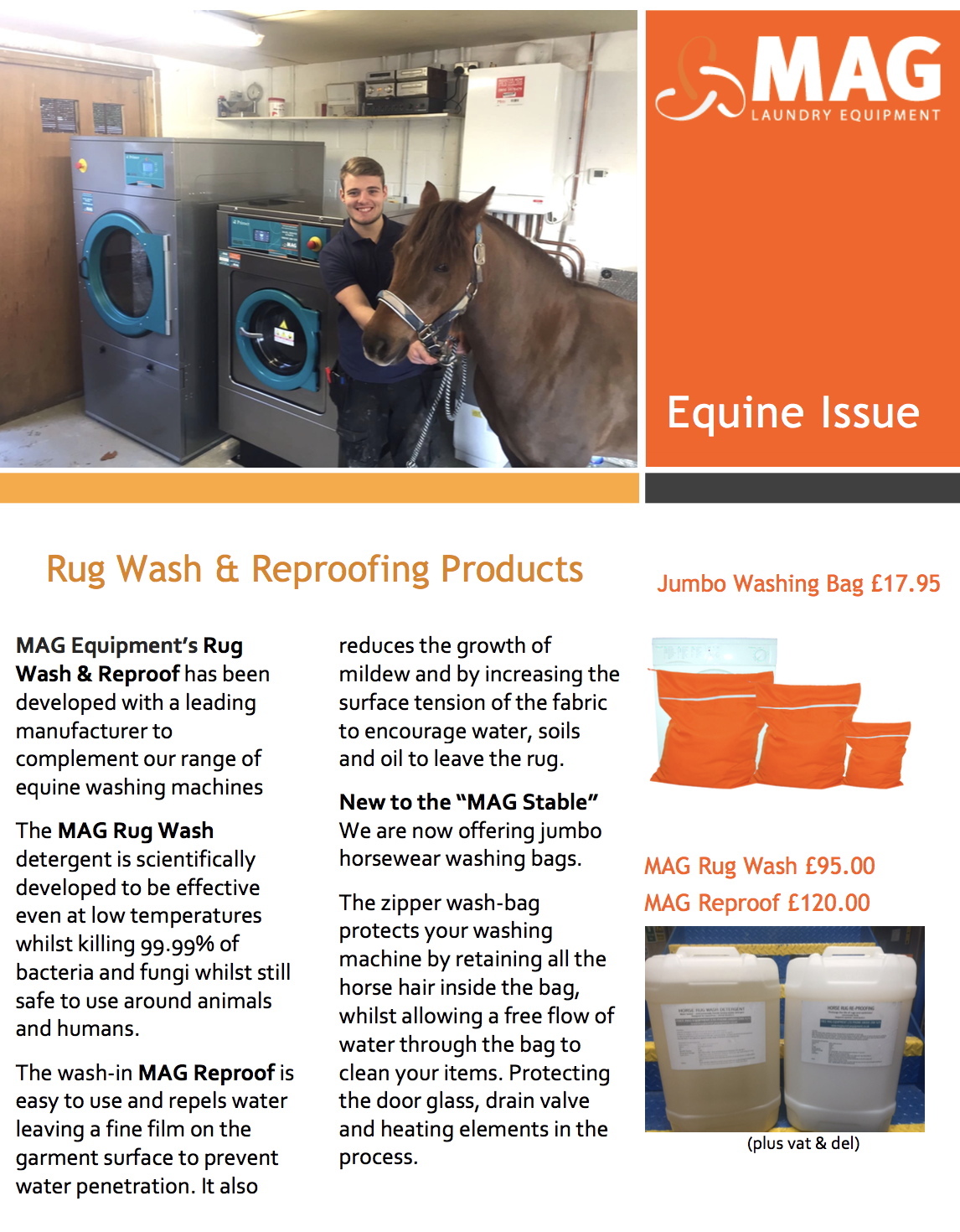 Horse Rug Washing Machine Soap Liquid Proof Mag Laundry