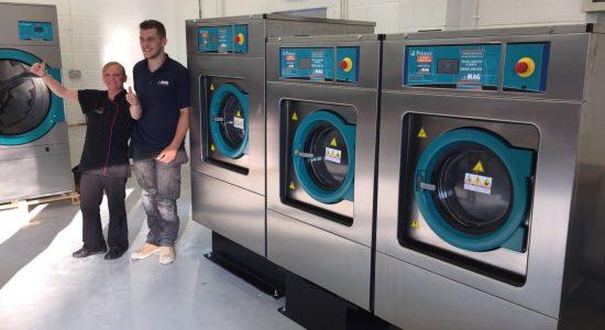 primer washing machine install