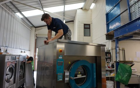 how-to-install-a-industrial-washing-machine-in-a-laundry