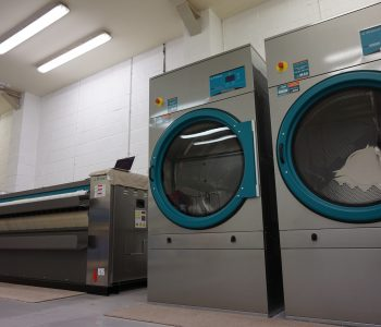 68 bed hotel laundry