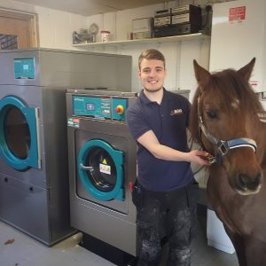 equine washing machine