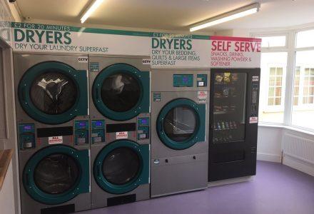 launderette shop business