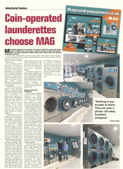 the launderette boom 2017 big business
