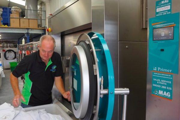 video industrial laundry equipment domus laundry uk